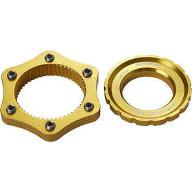 Reverse Centerlock Adapter gold